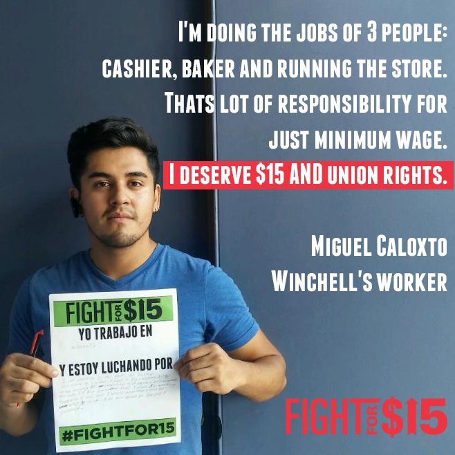 Low wages are violence. Knowingly letting people suffer is violence. It must end. - @fightfor15 #FightFor15