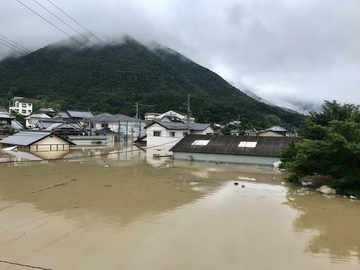 豪雨被害・画像】愛媛県大洲市「...