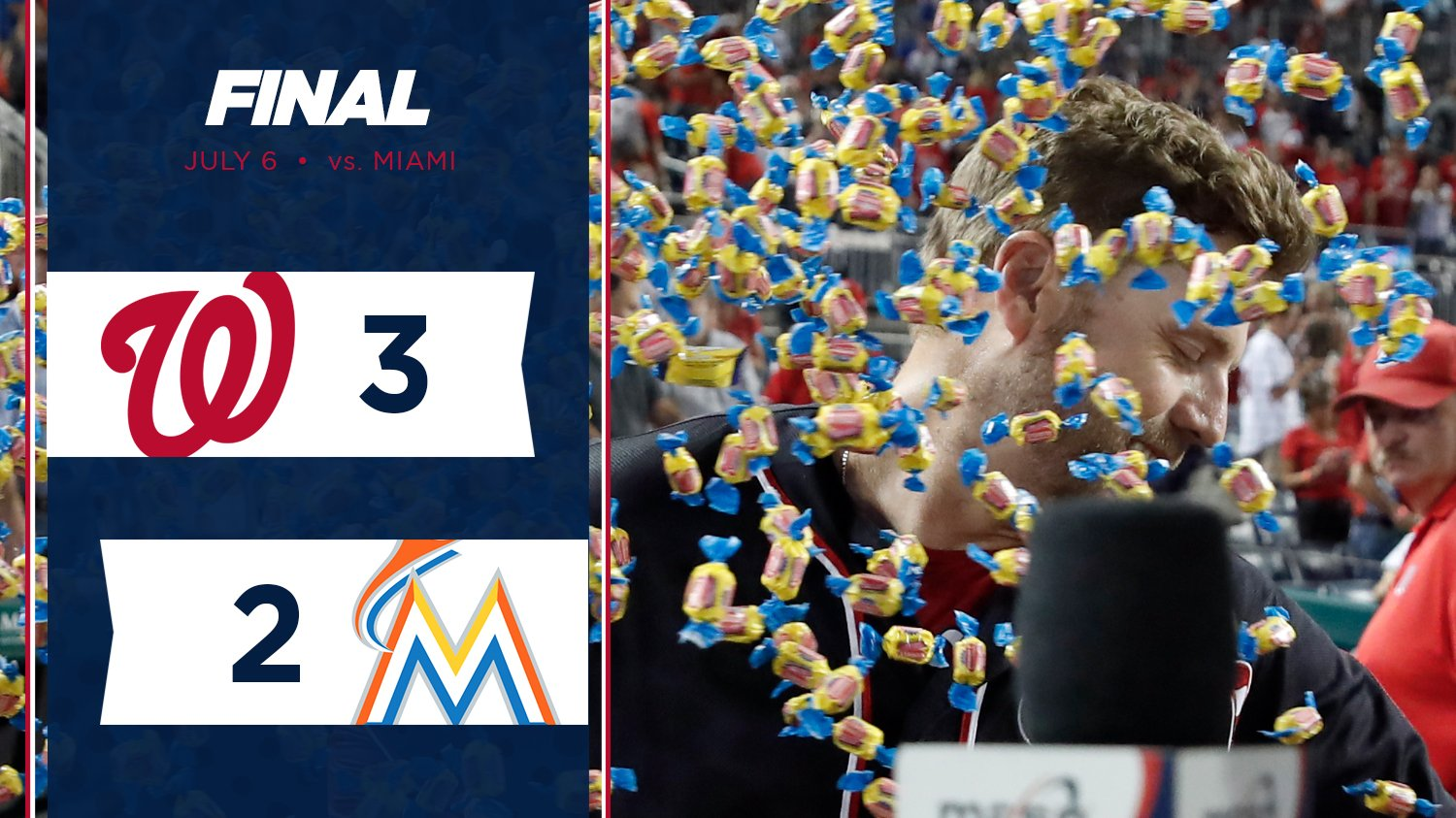 Reynolds left his Mark in his lone AB tonight.  RECAP // https://t.co/8wGhRkc9NV https://t.co/zpYchhdJx7