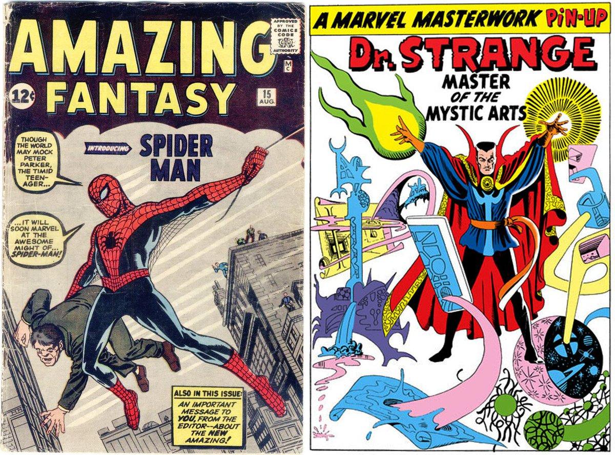 Comic book legend Steve Ditko, co-creator of Spider-Man and Doctor Strange