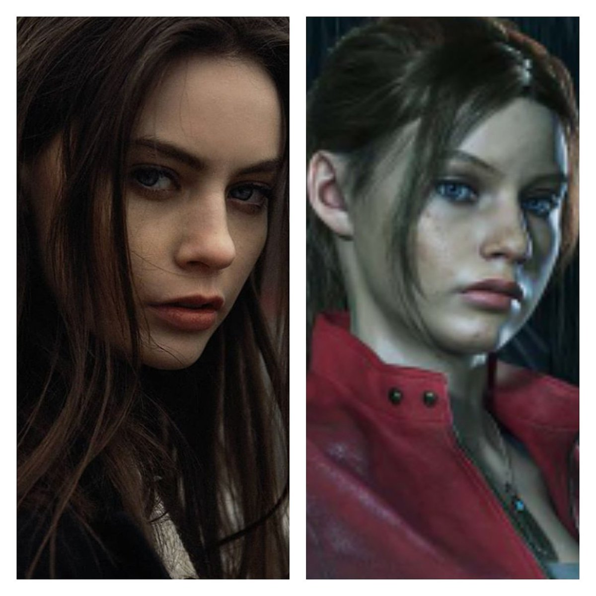No hagas Enfermedad Helecho  Jordan Mcewen, official Claire model in RE2! by ClaireRedfield-4ever on  DeviantArt