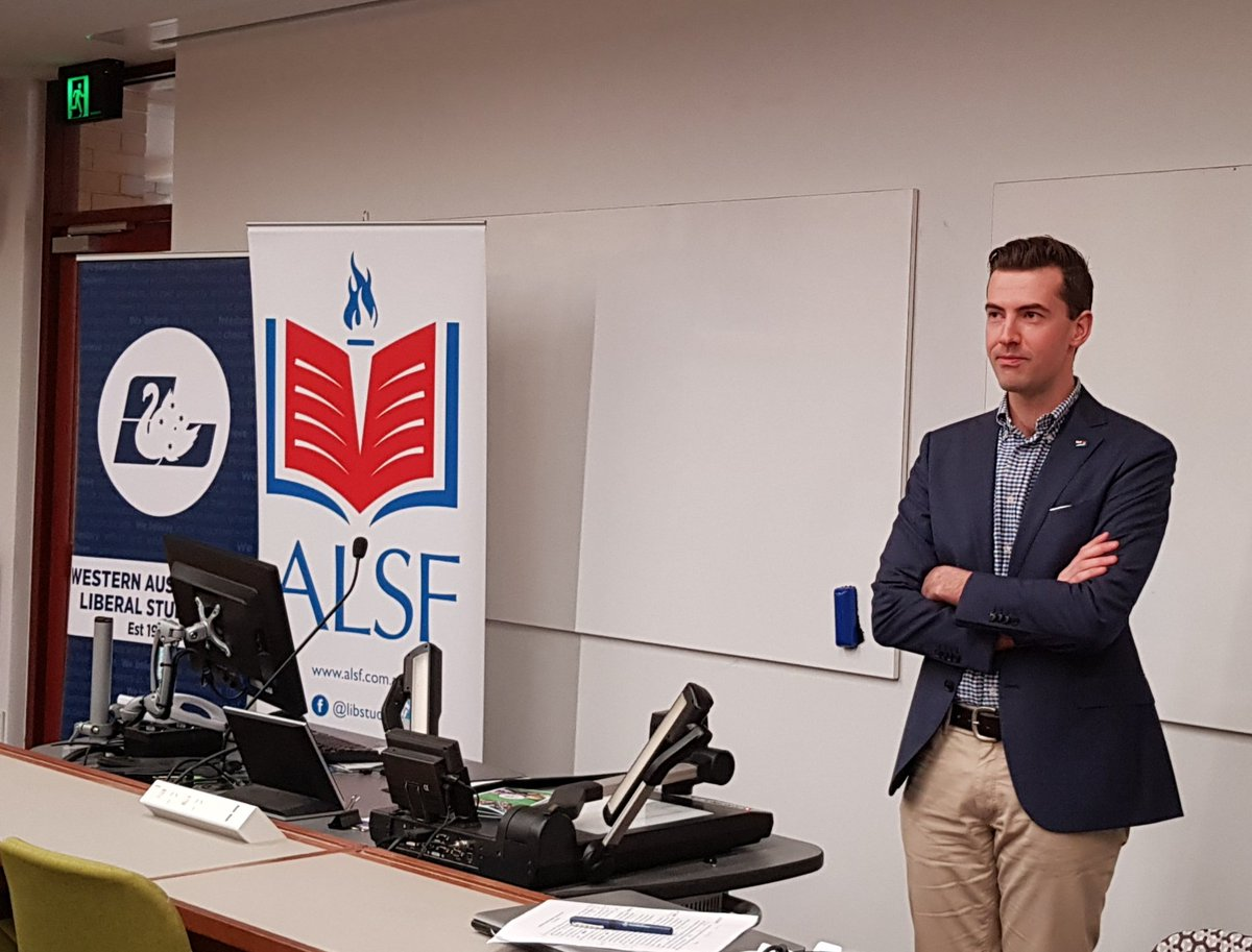 """Australian Liberal Students' Federation on Twitter: """"A pleasure to ..."""