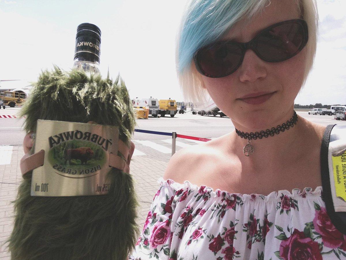 Zubrowka vodka sunglasses New