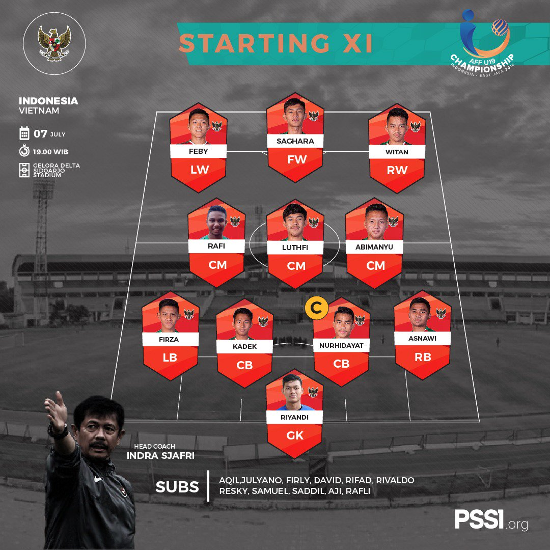 starting xi indonesia vs vietnam