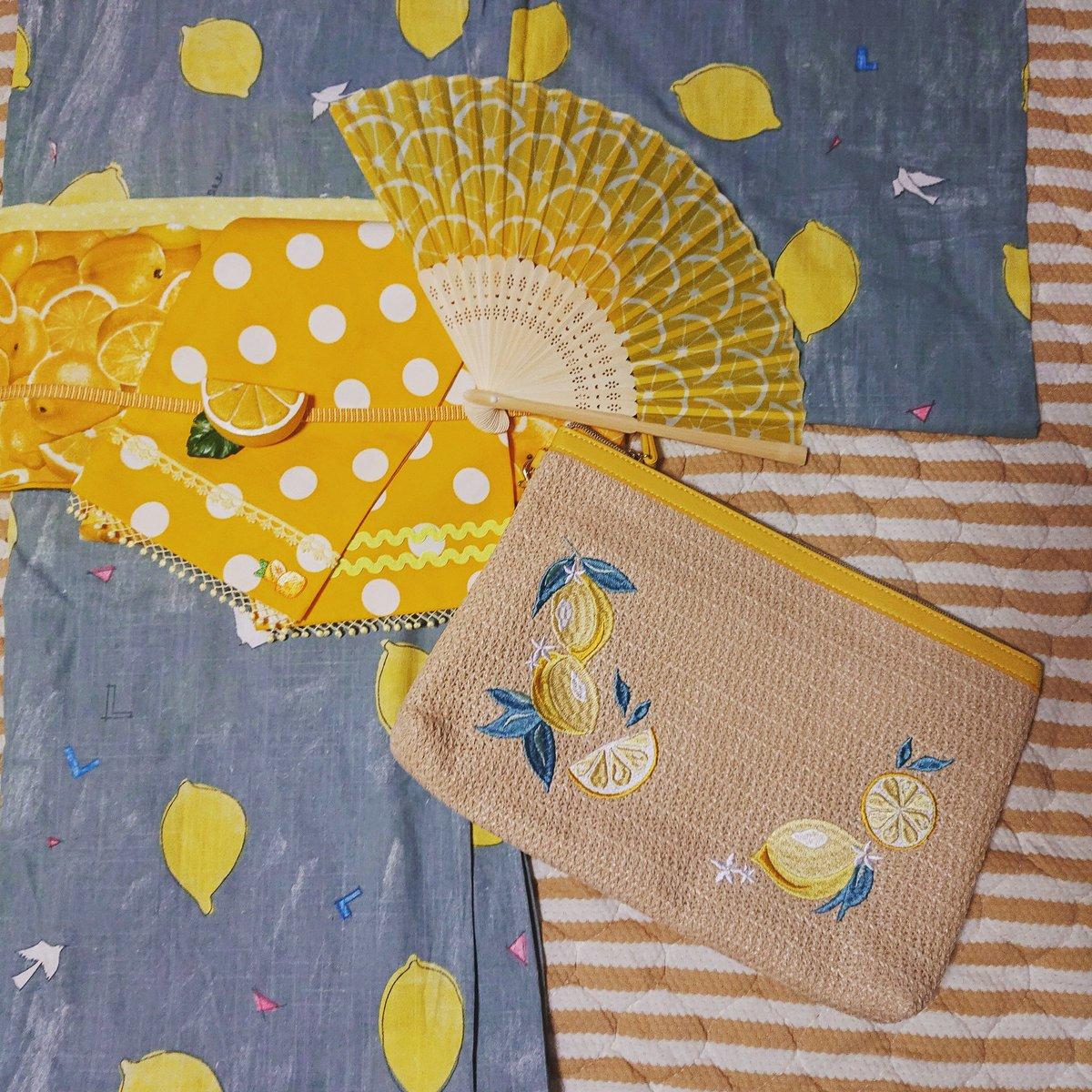 test ツイッターメディア - レモンコーデ??  #gu とか #キャンドゥ とか #ダイソー とかでコツコツ揃えた #レモンコーデ ? #プチプラ です? . #唐揚げが似合うオンナ になるの? . #浴衣 #yukata #レモン #lemon #Japan #日本の夏 #summer #夏はすぐそこ ???? https://t.co/6lpSk4elY3