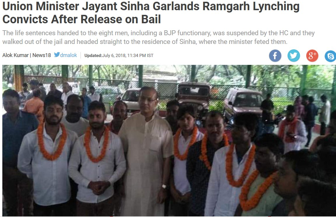 Image result for politician garlands lynch convicts