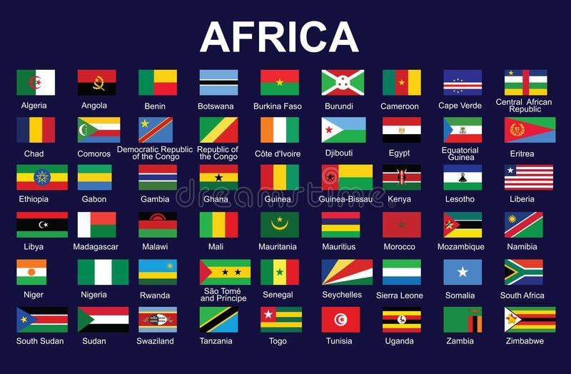 Флаги африки фото с названием