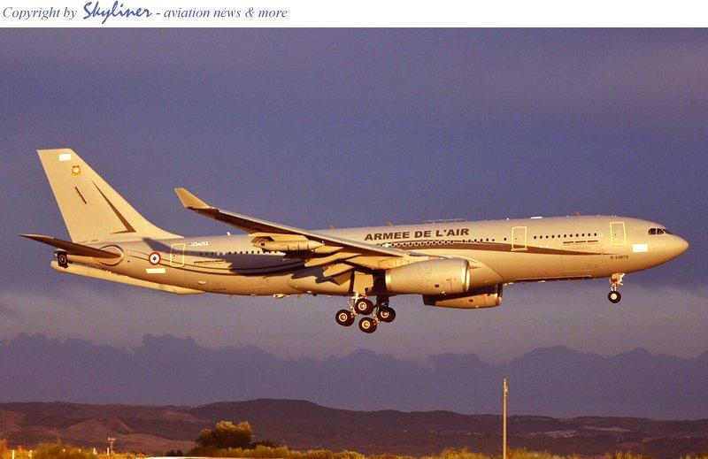 القوات الجوية الفرنسية تتسلم أول طائرة إيرباص صهريج A330MRTT Dhfp1nUWkAE11aI