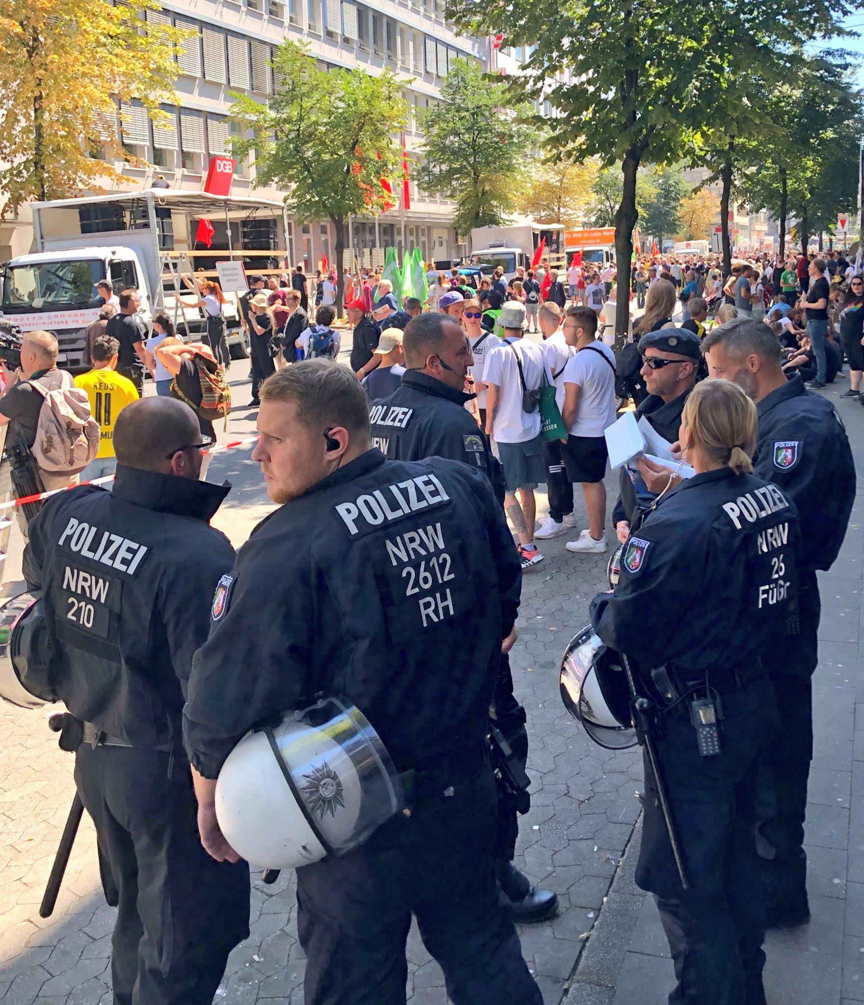 Demo Düsseldorf Polizeigesetz