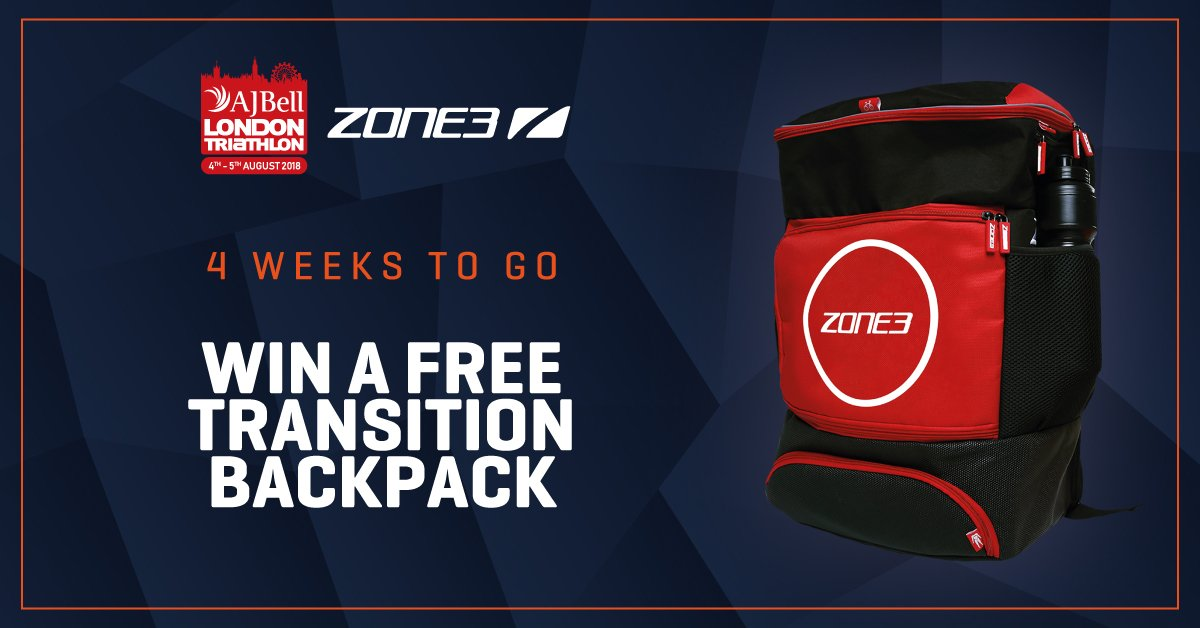 Zone3 Triathlon  Zone3official. WIN A TRANSITION BACKPACK ... 78d4164803071