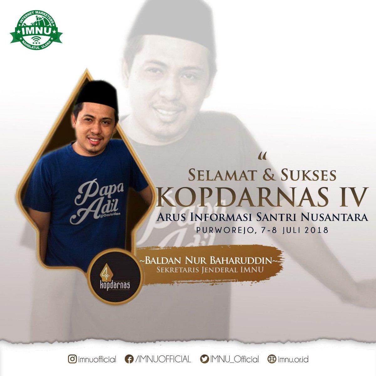 Selamat dan Sukses atas terselenggaranya. KOPDARNAS IV. Arus Informasi Santri Nusantara. @aisnusantara Purworejo, 7-8 Juli 2018.  #AIS #aisnusantara #IMNU #kopdarnas #indonesialebihnyantri