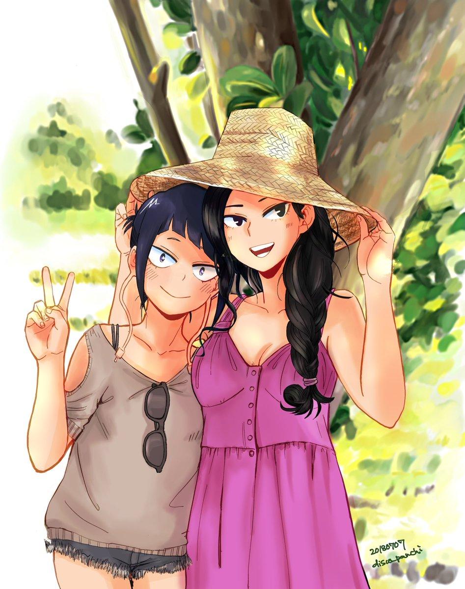 ヤオモモとじろちゃんの夏休み