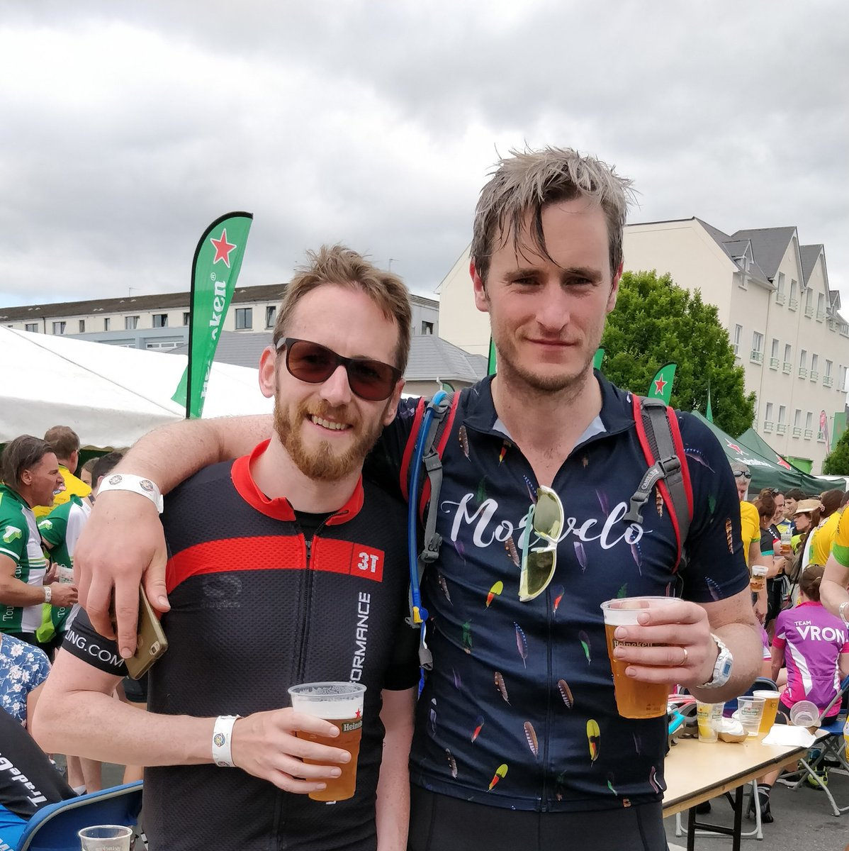 #ROKCharityCycle 2018 complete! Bring on Le Tour! Cracking day as ever! @_olderandcolder