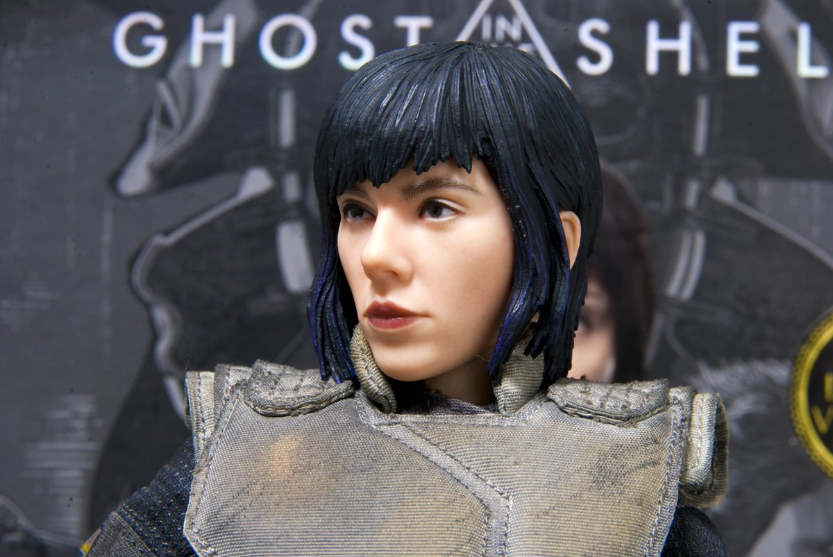 Animation Art & Characters Brand New Ghost in the Shell Major Deluxe ThreeZero Figure Other Anime Collectibles