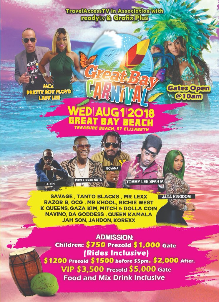 #lookyanoww #August1 #emancipationday @jahdonmusic will be performing in #stelizabeth for the 1st time @greatbaycarnival #treasurebeach #subscribe #jahdonmusic on #youtube #CongoBongoEP available on all #digitalplatforms #PutInDiWork<br>http://pic.twitter.com/3h9UTW97NC
