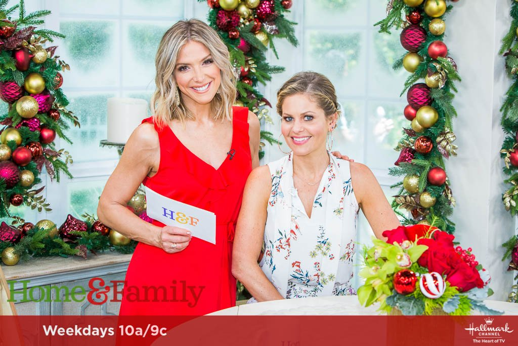 Hallmark Christmas In July Logo.Candace Cameron Bure On Twitter It Is Christmas In July On