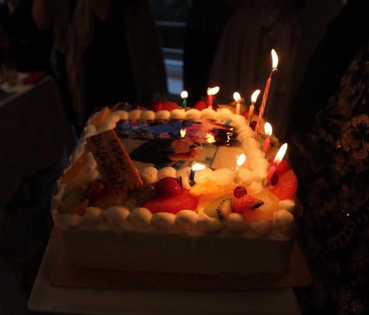 本日18回目の誕生日を迎えました😊✨ 今年は、昨年より良い結果が出せるよう頑張っていきたいと思います💪🏻 再来週からは韓国オープンも始まるので気を引き締めて頑張ります!! お祝いしてくださった方ありがとうございました🙇💕