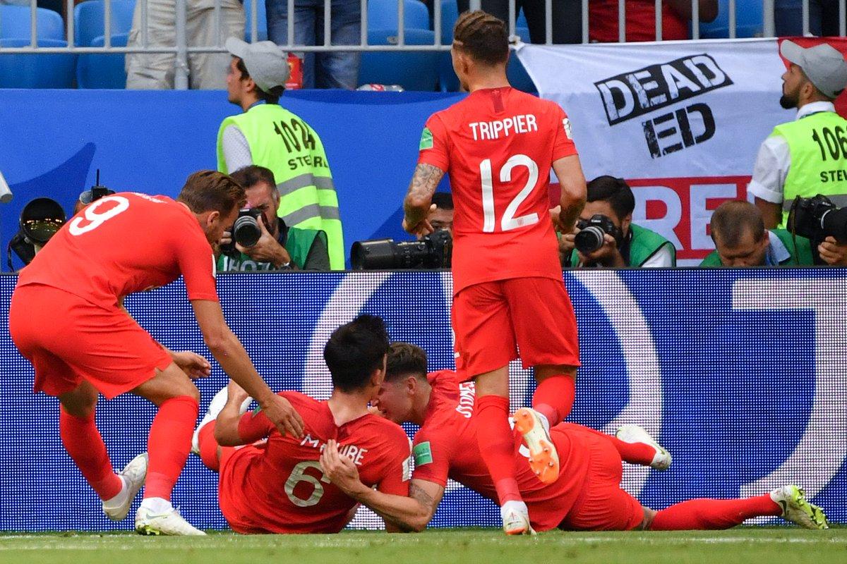 إنجلترا إلى نصف نهائي كأس العالم بالفوز على السويد بثنائية نظيفة 29