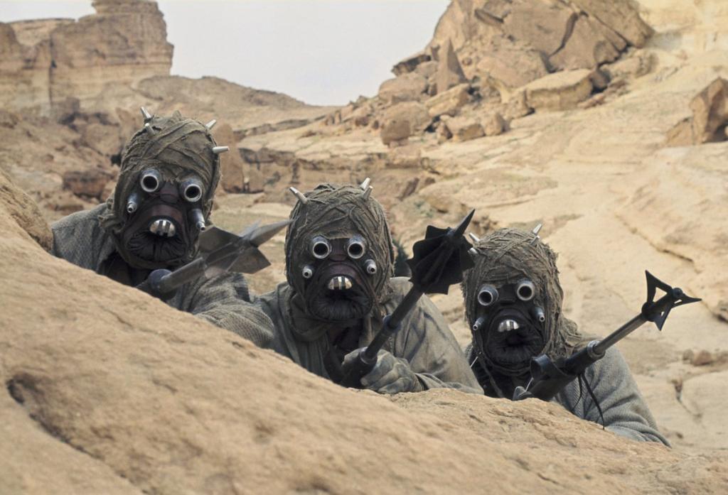 Moradores de las arenas en Star Wars Star Wars: Los Jedi iban a aparecer en Rogue One