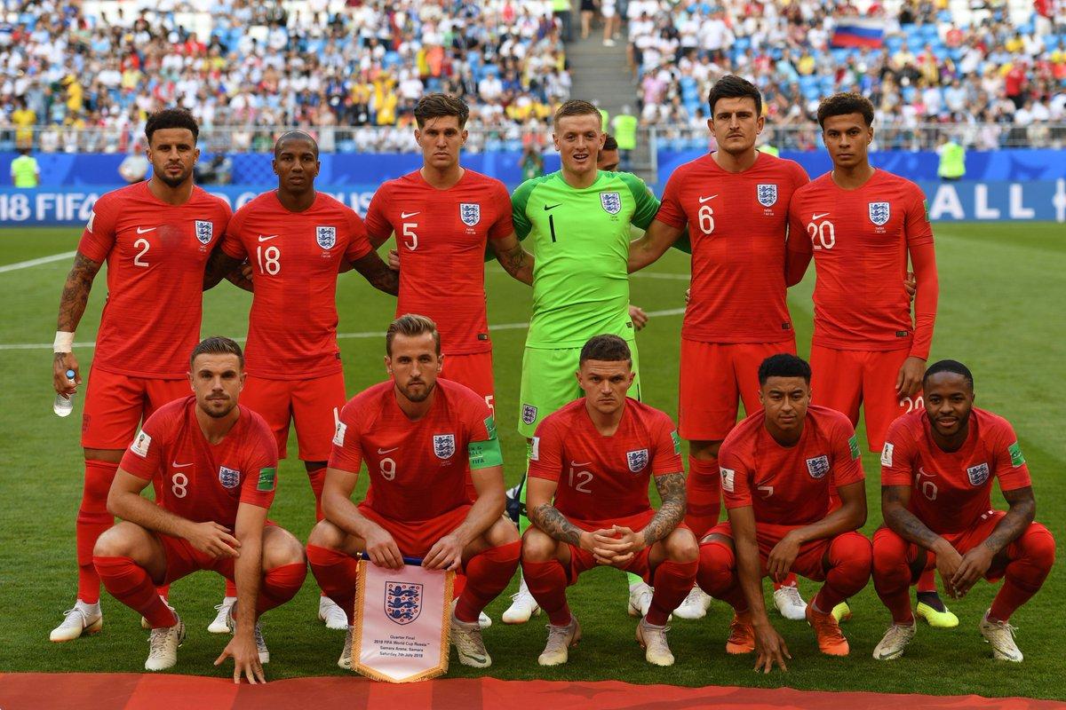 إنجلترا إلى نصف نهائي كأس العالم بالفوز على السويد بثنائية نظيفة 26