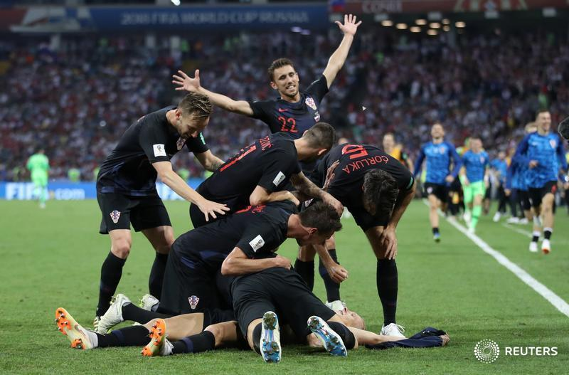 JUST IN: Croatia beat hosts Russia on penalties to play England in #WorldCup semi-final #RUSCRO