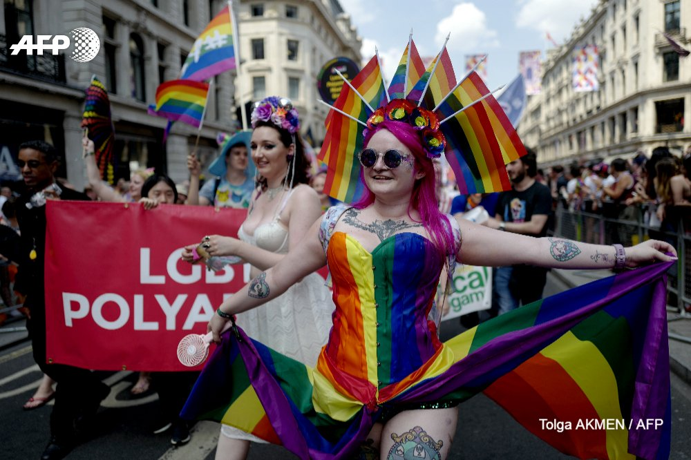 Pride parades took over the streets of madrid and london 825a3f5ee1982