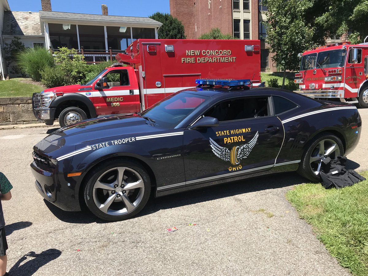 Touch A Truck Going On Right Now In Front Of Stormont School. Check Out  This Ohio State Highway Patrol Car.pic.twitter.com/tPRMifl8ug