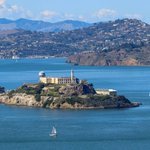 Image for the Tweet beginning: View of @AlcatrazIsland from the