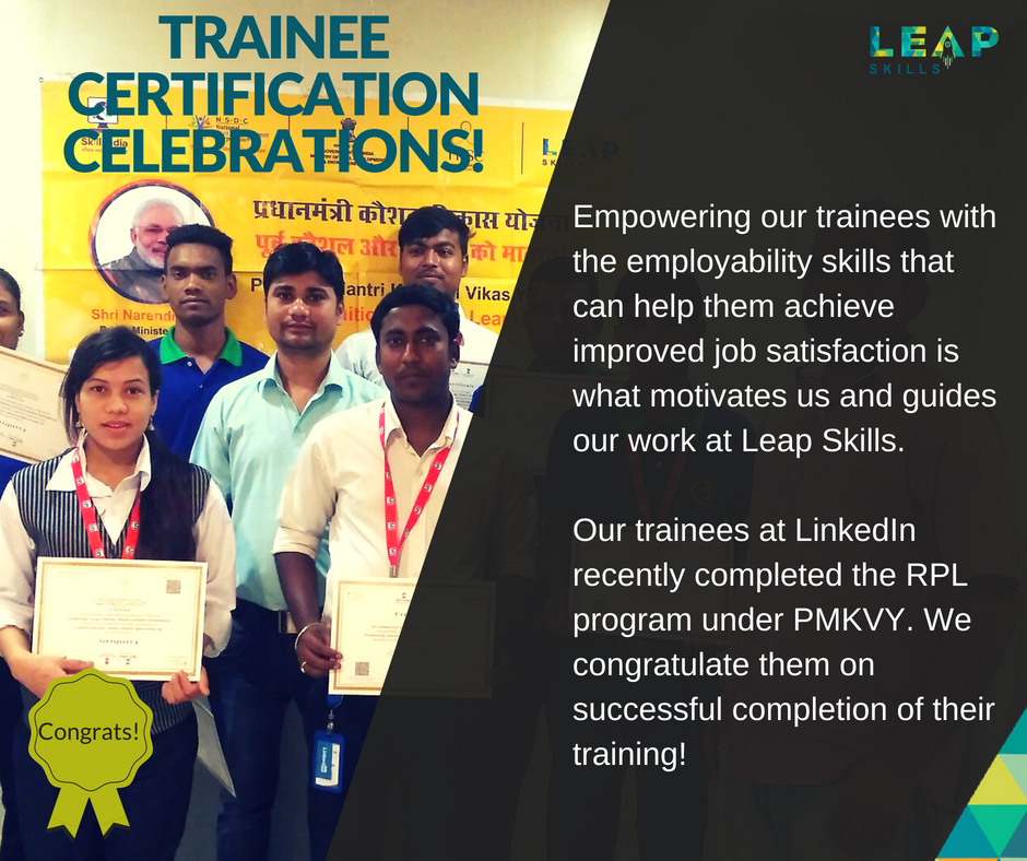 Leap Skills On Twitter Successfully Certified Rpl Trainees