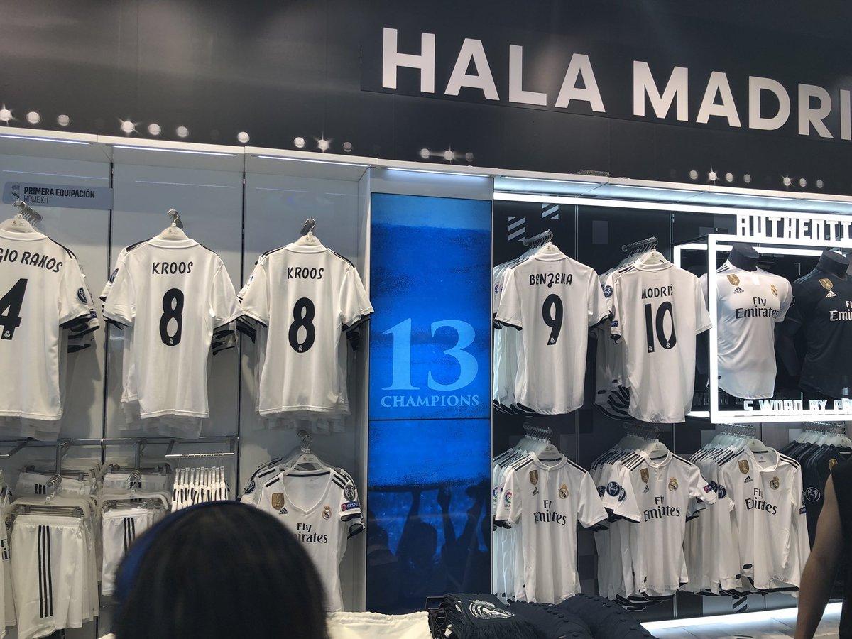 tienda oficial real madrid