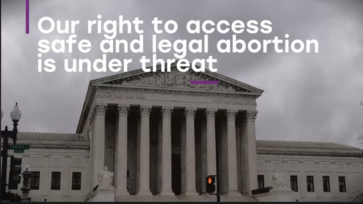 If #RoevWade is overturned and gutted, only eight states—out of FIFTY—have constitutional protections for a woman's right to abortion. #WhatsAtStake #SaveSCOTUS
