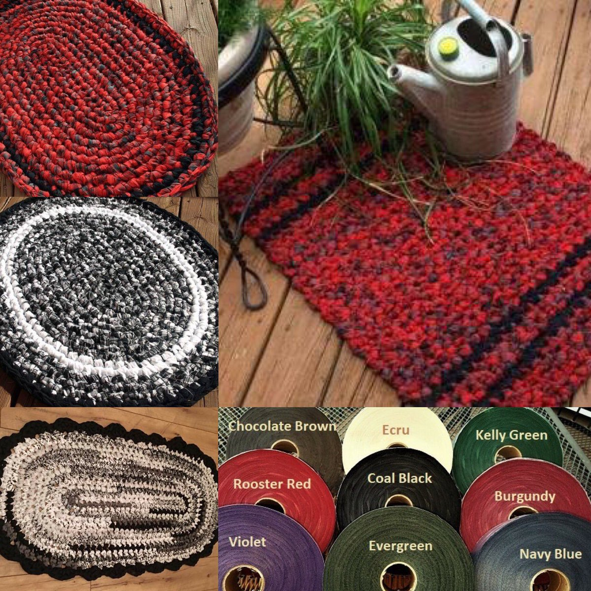 Broadcloth Rug On A Roll Fabric Rolls That Are Perfect Click Here To Order Https Ragstorugs Bylora Category 57 Collections Php