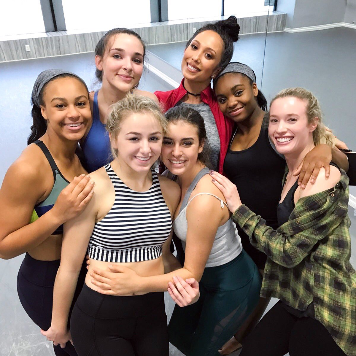 Mentoring these girls was such an amazing experience. I can't wait to work with young dancers again soon #thenextgeneration
