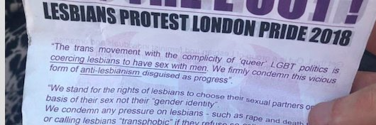 "FYI #GetTheLOut ""Queer LGBT Politics"" you oppose was invented by lesbians (& queer women) know your history i.e #LesbianAvengers & #JudithButler #TeresaDeLauretis #GayleRubin #SarahSchulman #JackHalberstam #DianaFuss #CindyPatton #GloriaEAnzaldua #AnneFaustoSterling #MaxineWolfe"
