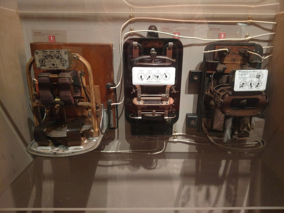 Chris Villarreal On Twitter Visiting Smithsonian American History Of Electrical Wiring And They Have An Exhibit Edison Electricity So What Does Energy Nerd Do