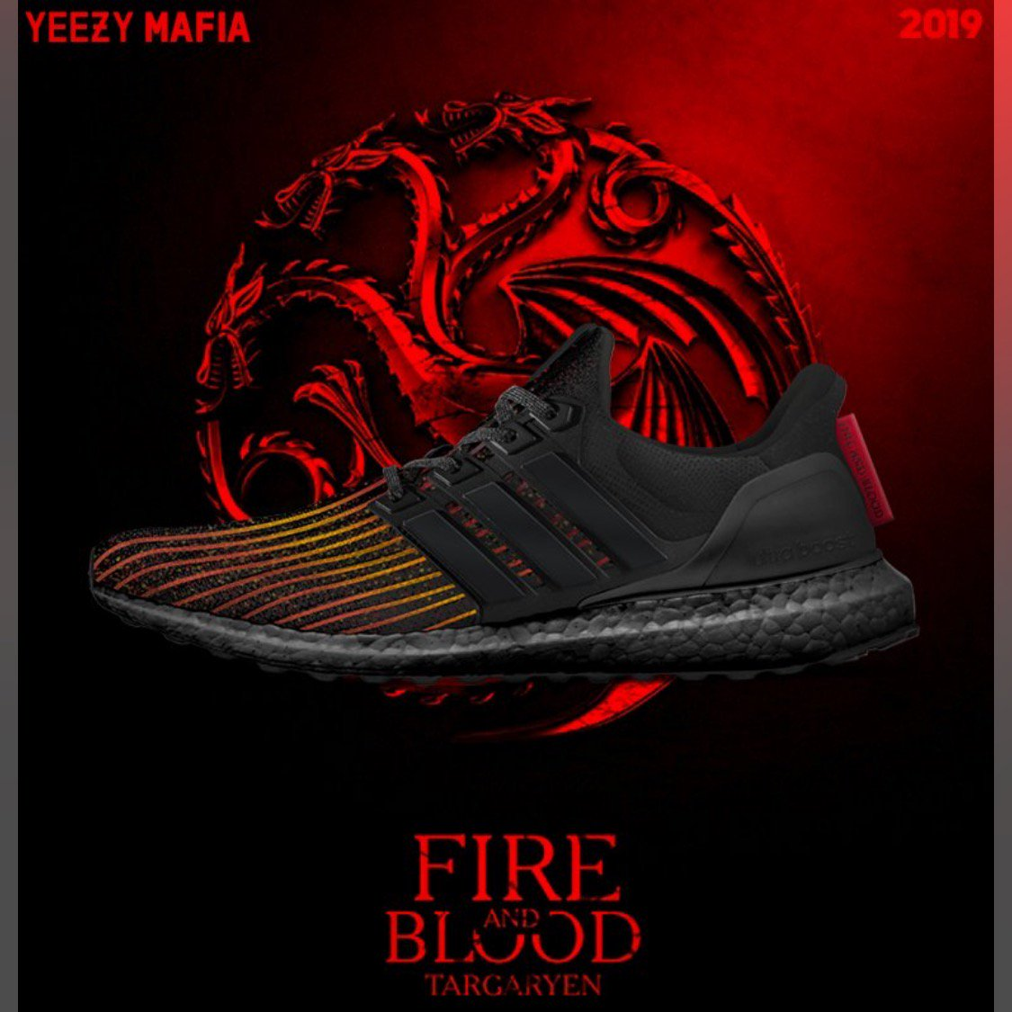 fa808cbdc These Game of Thrones-themed shoes from Adidas are EPIC! 👀 🔥 (via   theyeezymafia)pic.twitter.com xj0SkBSfNA