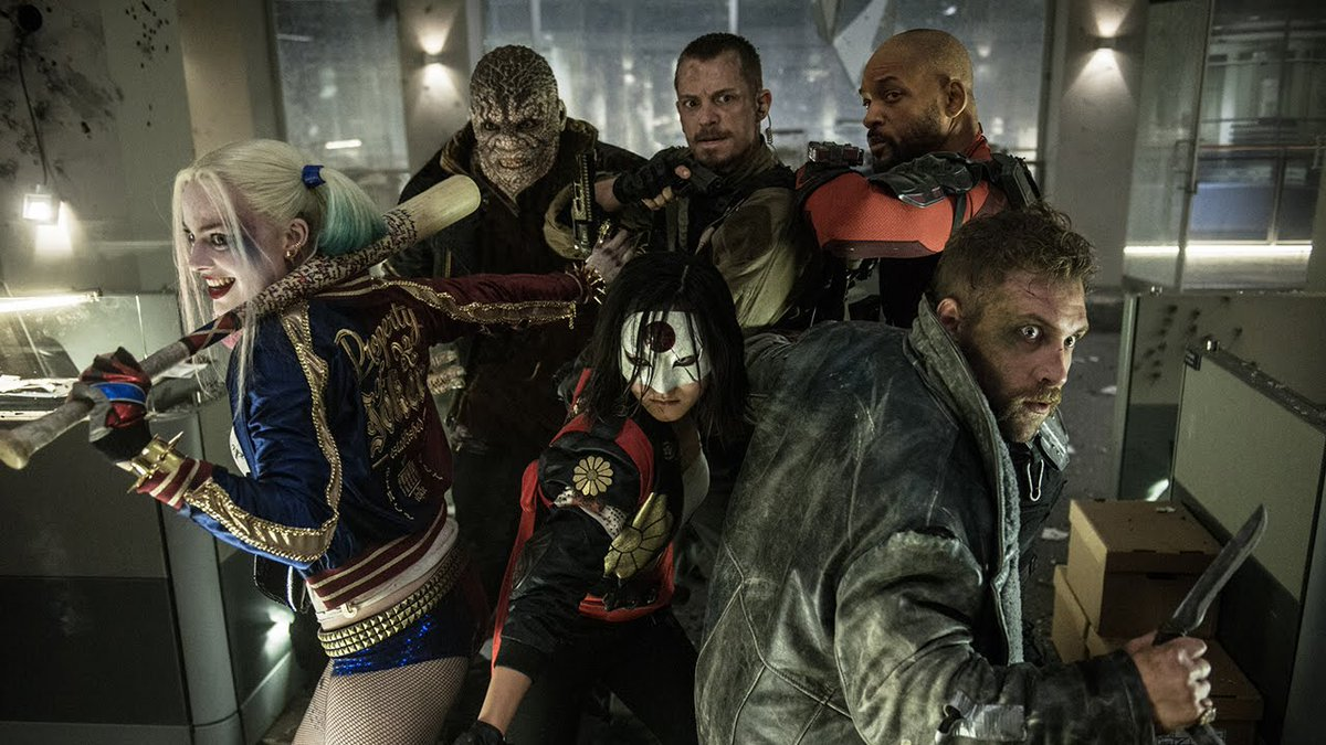 Anywayzzz Title: Suicide Squad Released: 2016 Director: @DavidAyerMovies<br>http://pic.twitter.com/XzMwxbs9vB