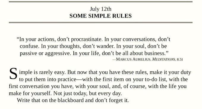 Good Morning Beautiful People 🌞 Some simple rules: #KaraboMotivates #ThursdayThoughts Photo