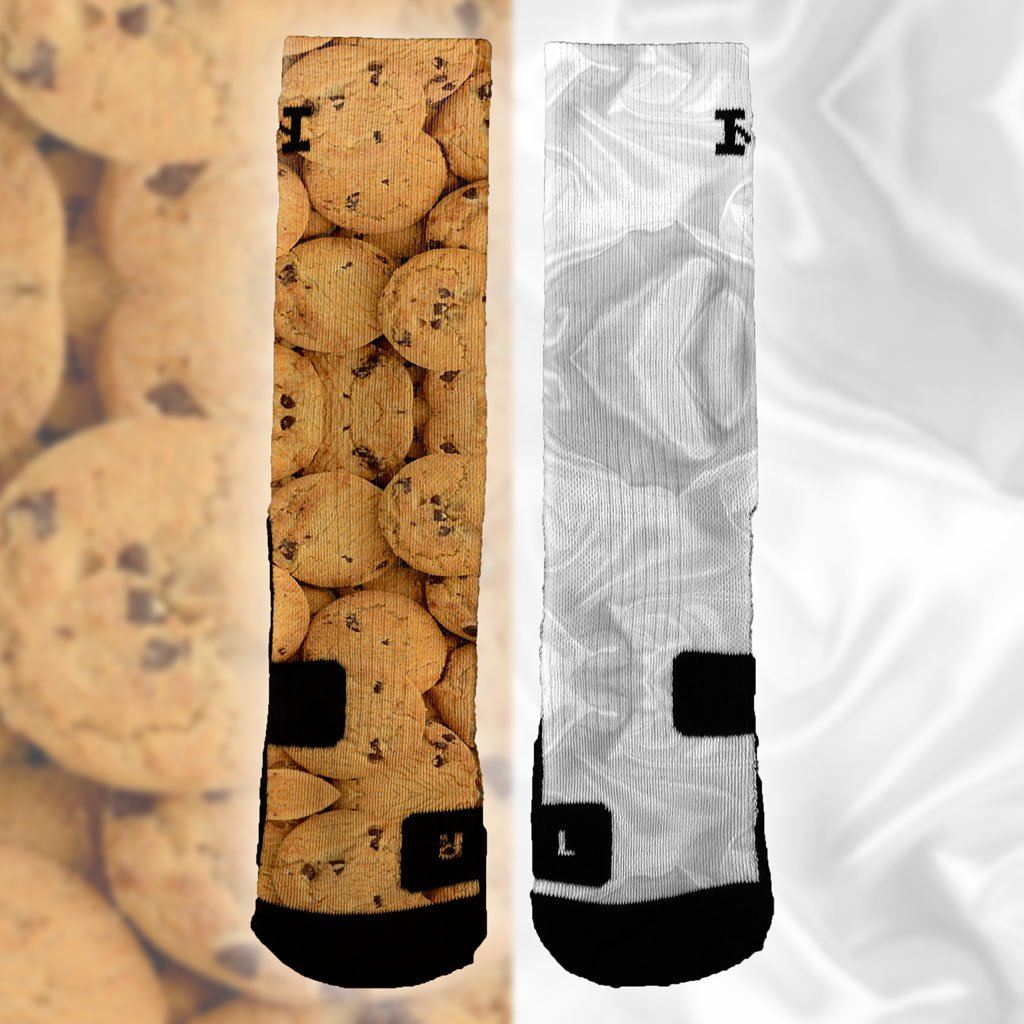 online store 9773b 1e51b Pick up a pair of our brand new  Milk   Cookies  socks for ONLY  9.99 for a  limited time at http   hoopswagg.com products milk-cookies  …!pic.twitter.com  ...