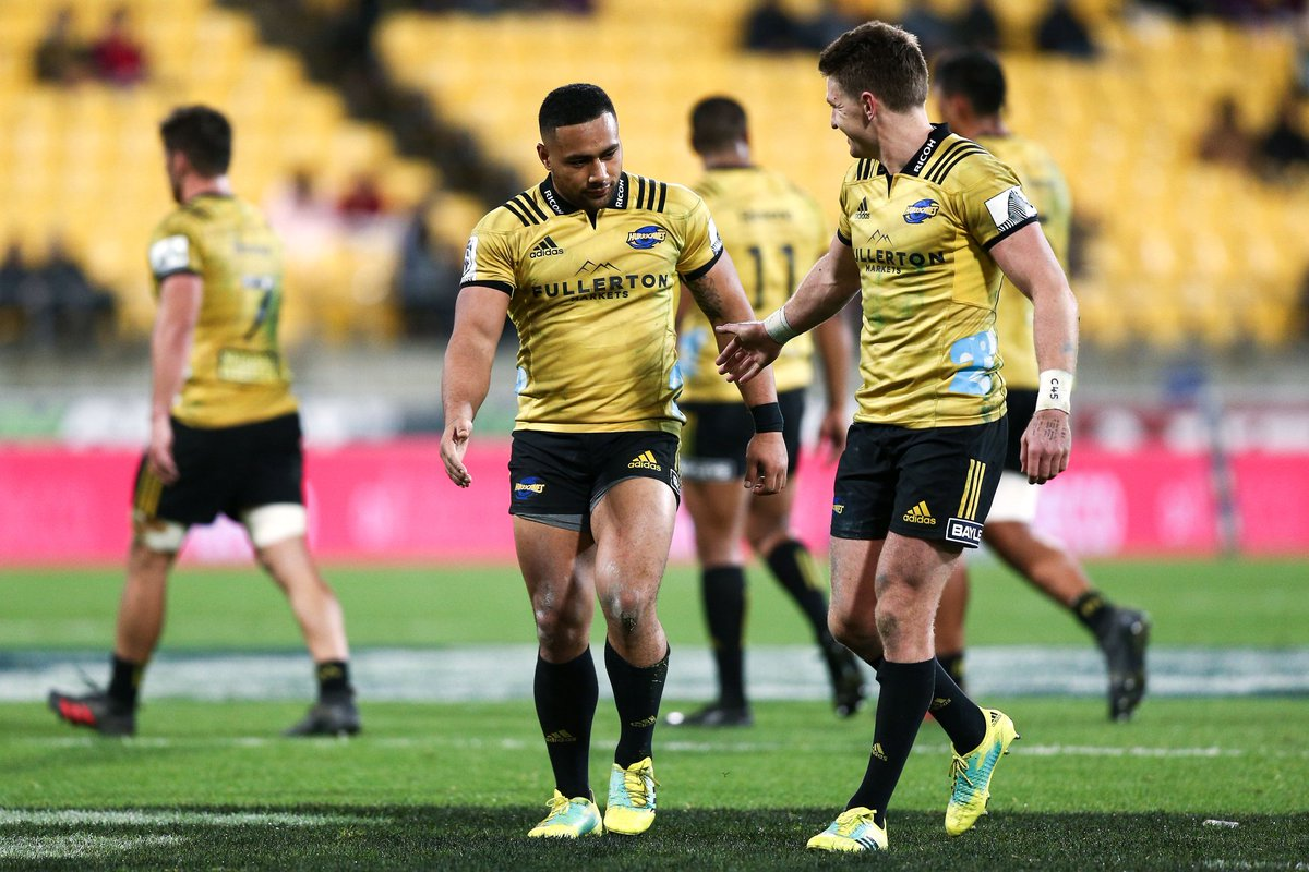 Loved being back out there with the @hurricanesrugby lads!