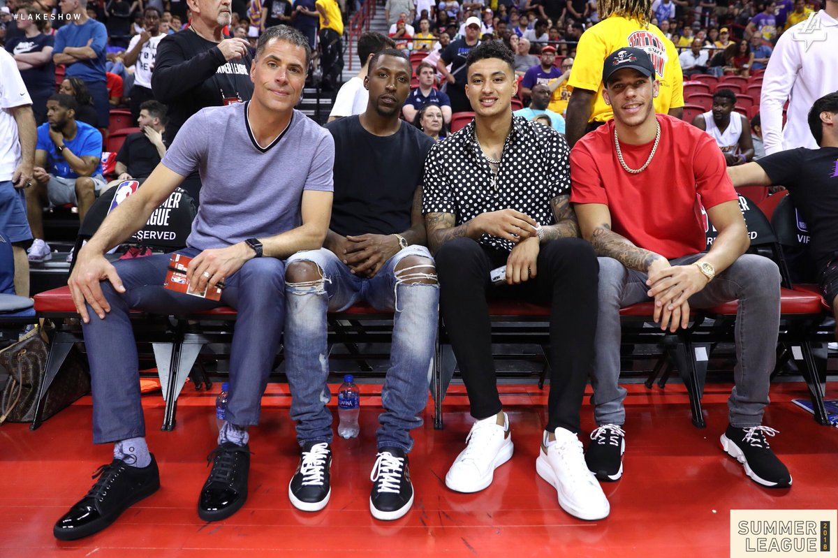 Whole squad's here for #LakersSummer