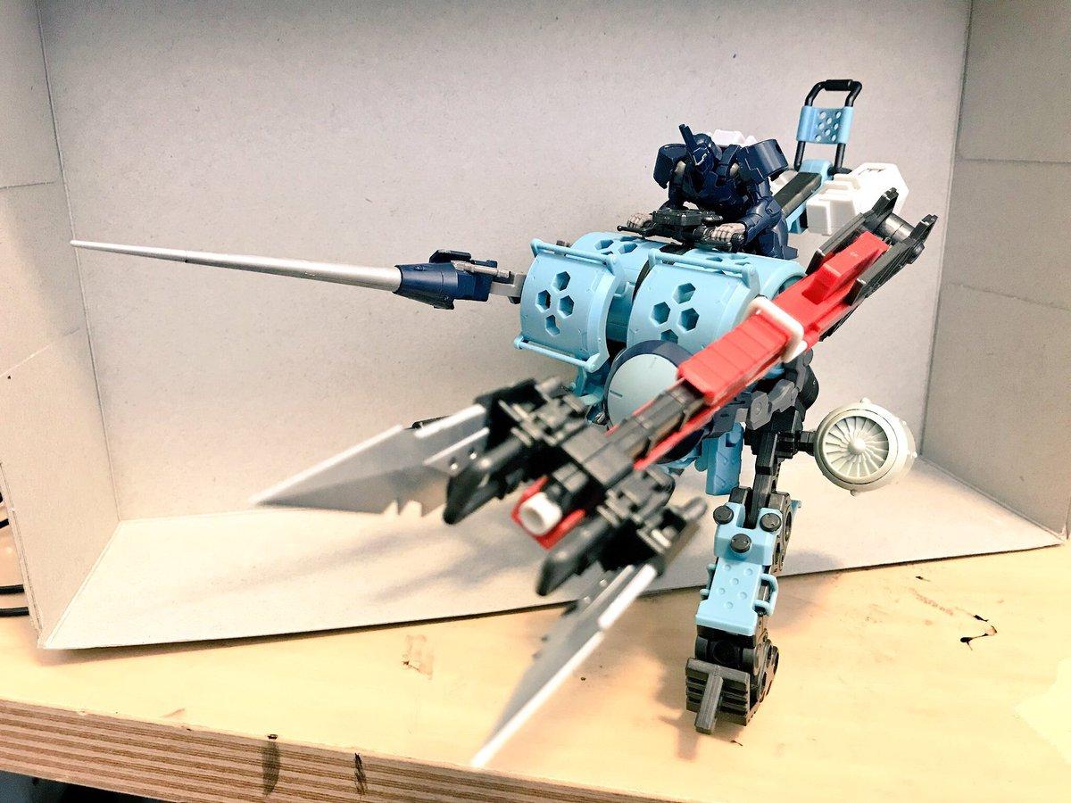 ヘキサギア スケアクロウ 全高125mm プラモデルに関する画像9
