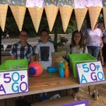 Buttsbury Ice Cream stall is open at the SummerFest - come along and have a go - all money raised is for GOSH!