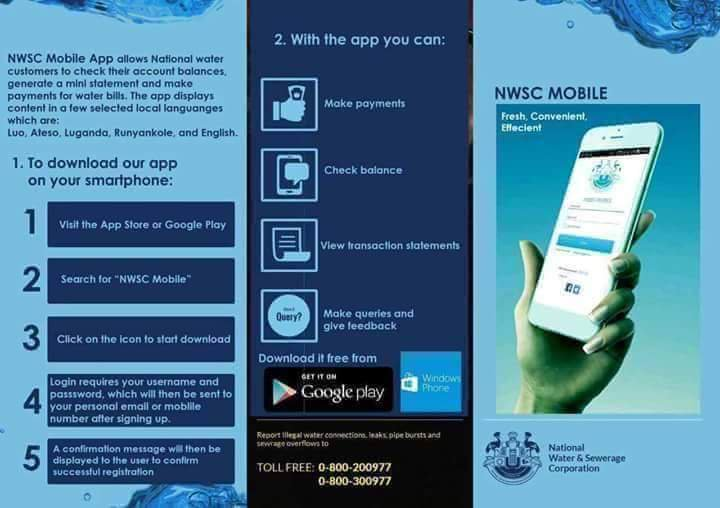 nwsc on twitter planning ahead use the nwsc app bill calculator