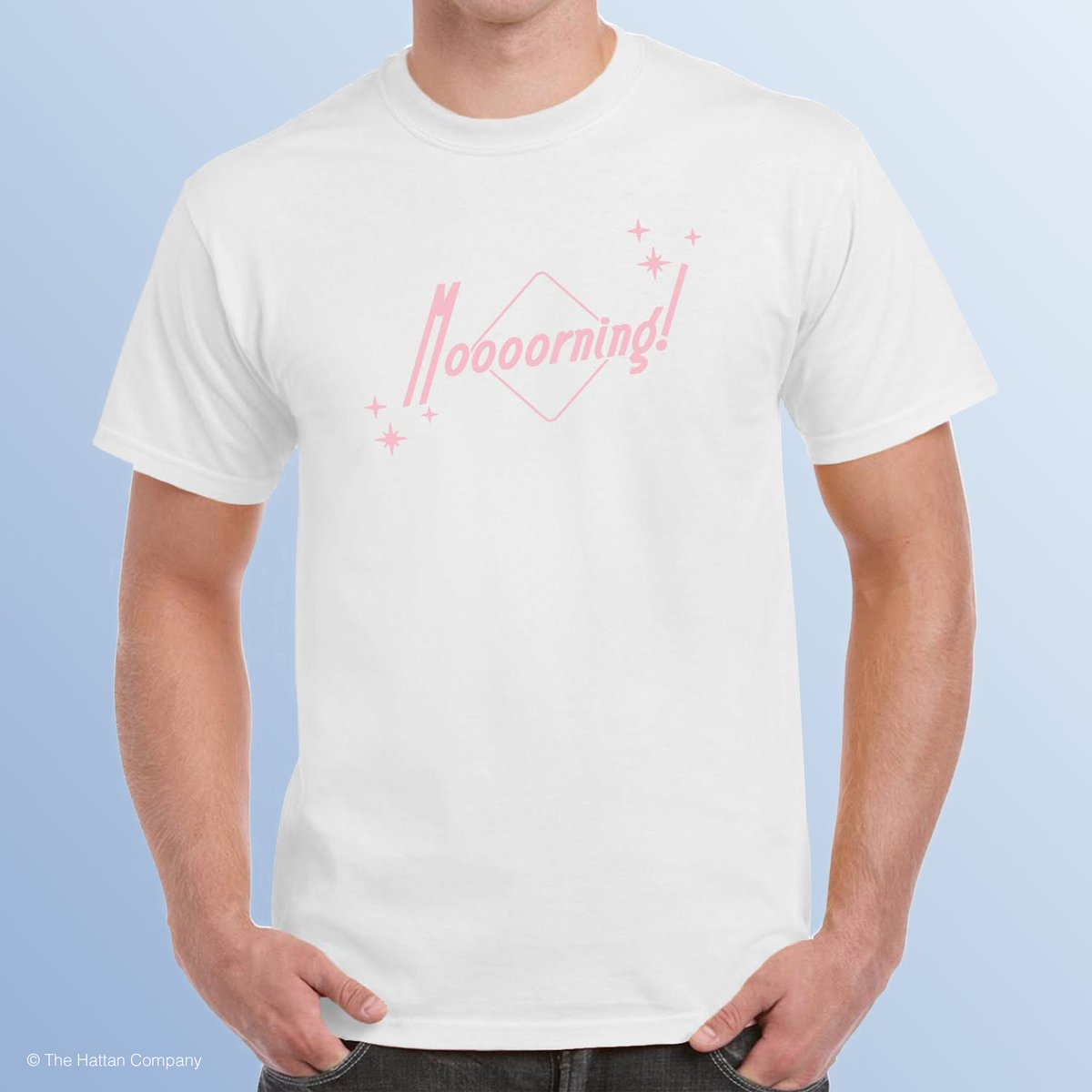 bd0b83a2 Get 20% off any 'Moooorning' T-Shirt today with code 'IMNOTALOSER'  http://adamhattan.com/shop pic.twitter.com/h1negb6gW8