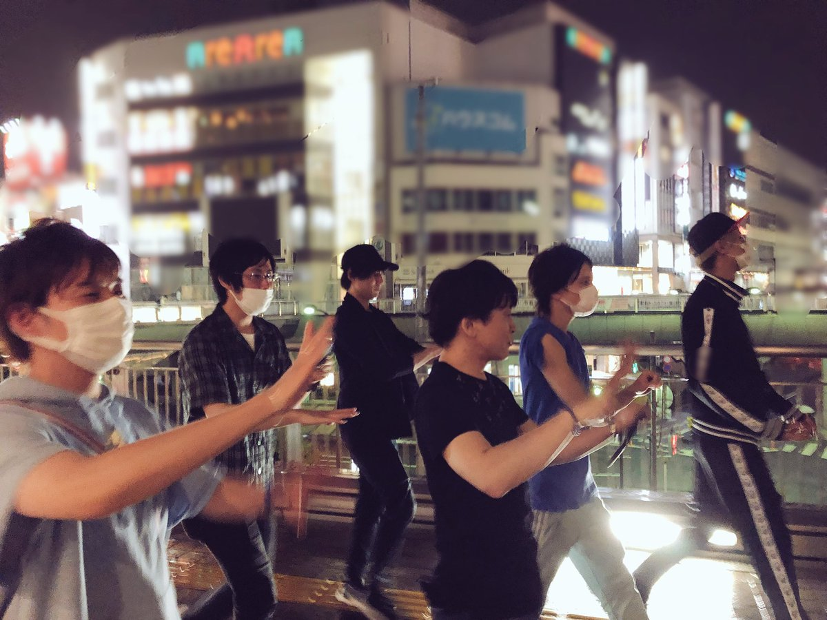 ライブ前日、7人でラーメン食べてモンジェネを踊りながら帰った夜は、一生忘れません。この7人で本当に良かった。ありがとう! #アイナナ