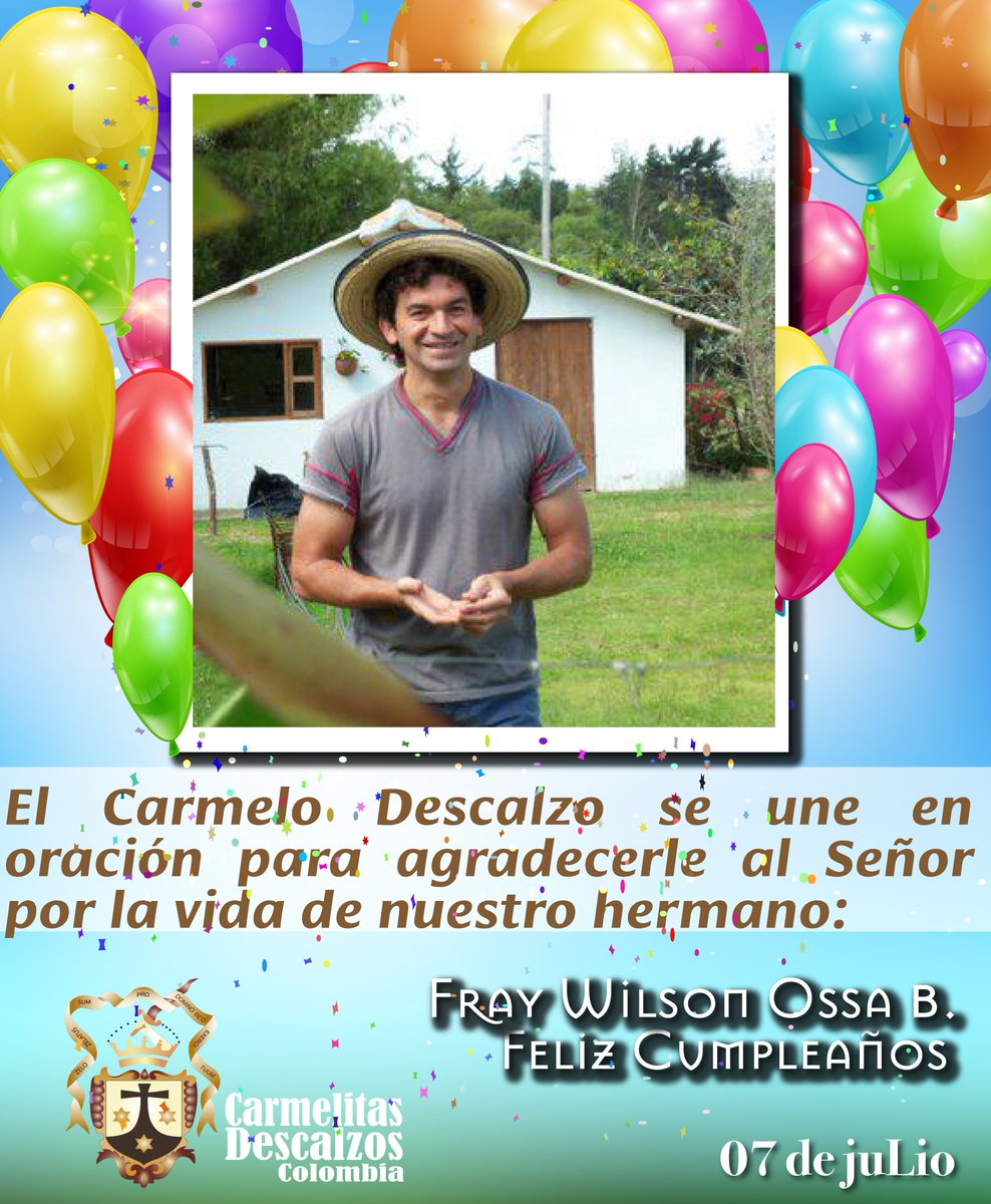 Ocd Colombia On Twitter Feliz Cumpleanos A Nuestro Hermano Fray