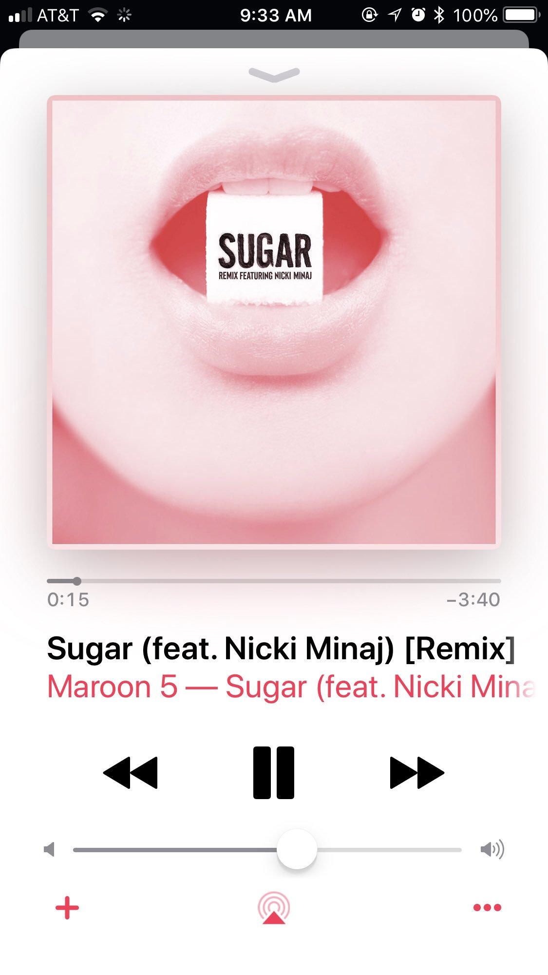 •Retweet for Sugar Remix with Nicki Minaj   •Fav for Girls Like You Remix with Cardi B https://t.co/MBtw0ChOgf