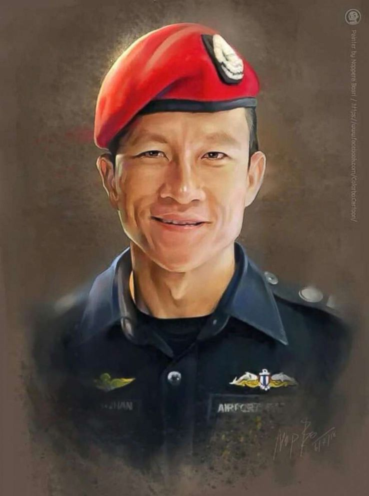 I hope everyone takes a moment today to remember Saman Gunan, the Thai Navy Seal that died making sure the kids stuck in the cave had enough oxygen so that today's rescue would even be possible. #ThaiCaveRescue https://t.co/tOW1dZNjNP