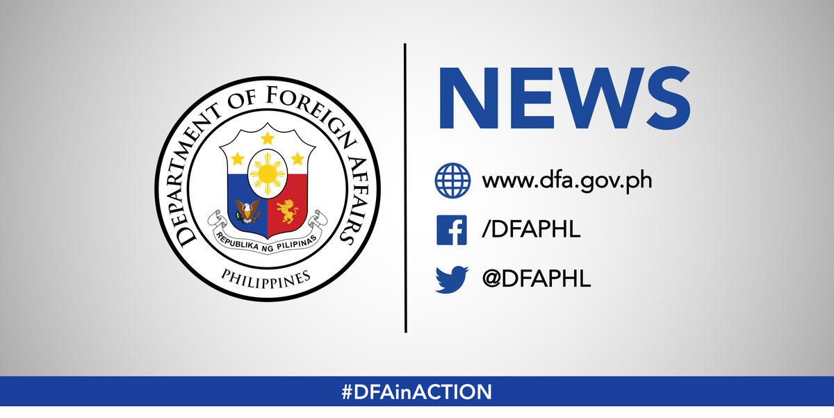 Dfa Philippines On Twitter The Dfa Has Joined The Filipino